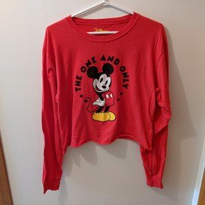 *2/15$* Disney Mickey Mouse Long Sleeve Top